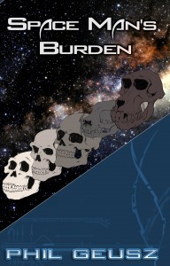 Space Mans Burden Front Cover